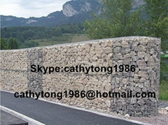 welded gabion box or welded mesh gabion