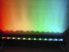 LED大功率12W七彩洗牆燈