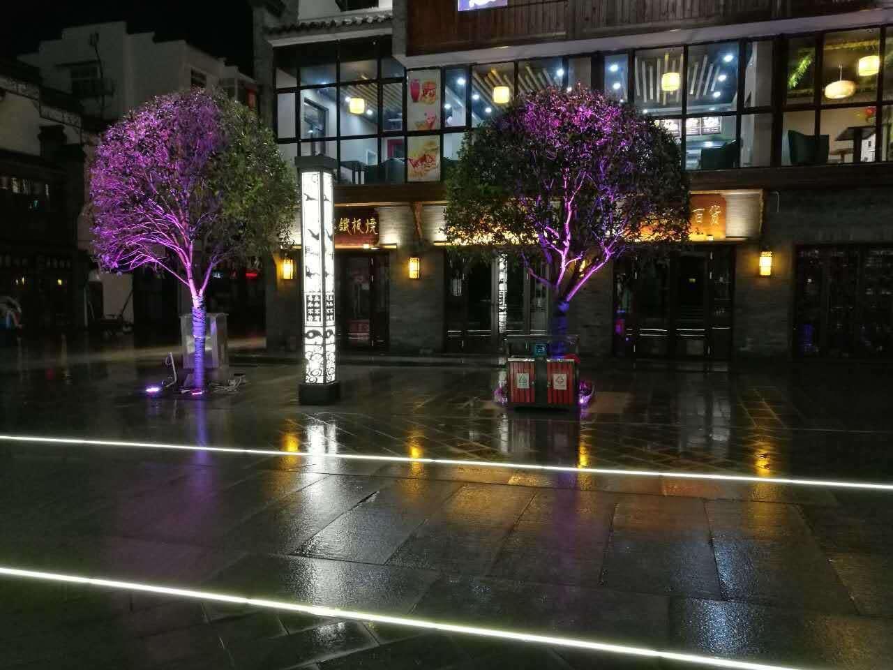 led地埋灯带广场发光砖 2