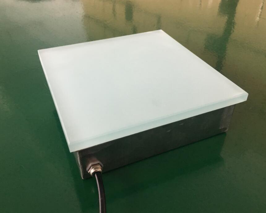 互动感应地砖灯50×50cm 4