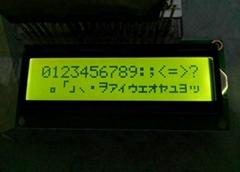1602字符LCM|密碼鎖LCD模組|門禁指紋機LCM