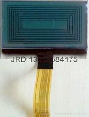 Air quality testing LCD