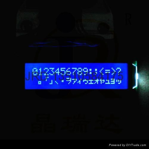 1602字符LCM|密碼鎖LCD模組|門禁指紋機LCM 2