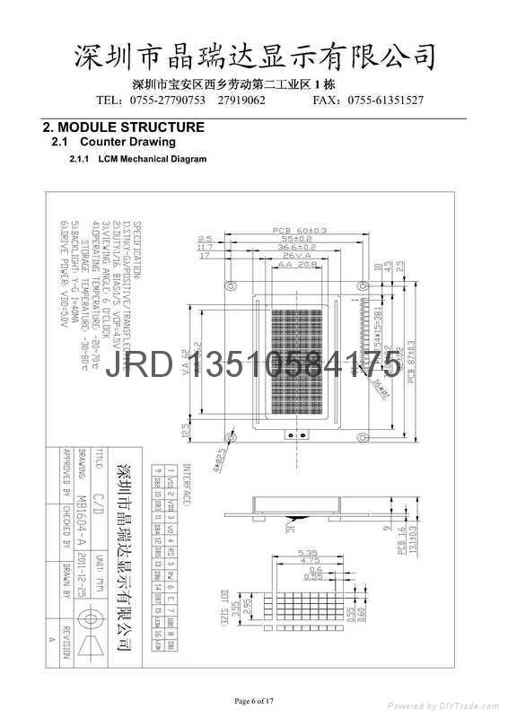 仪器,仪表,智能家居LCD 3