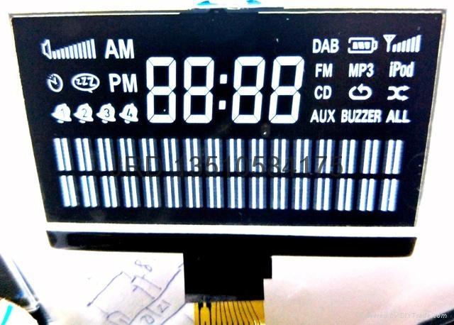 DAB数字收音机显示屏 2