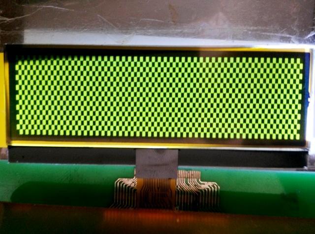 1602字符LCM|密码锁LCD模组|门禁指纹机LCM 4