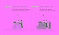 包缝机松紧带机械输送装置 1