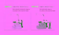 包缝机松紧带机械输送装置