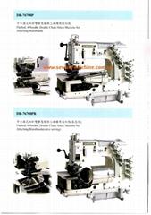 Multi-Needle Double Chainstitch Sewing Machine