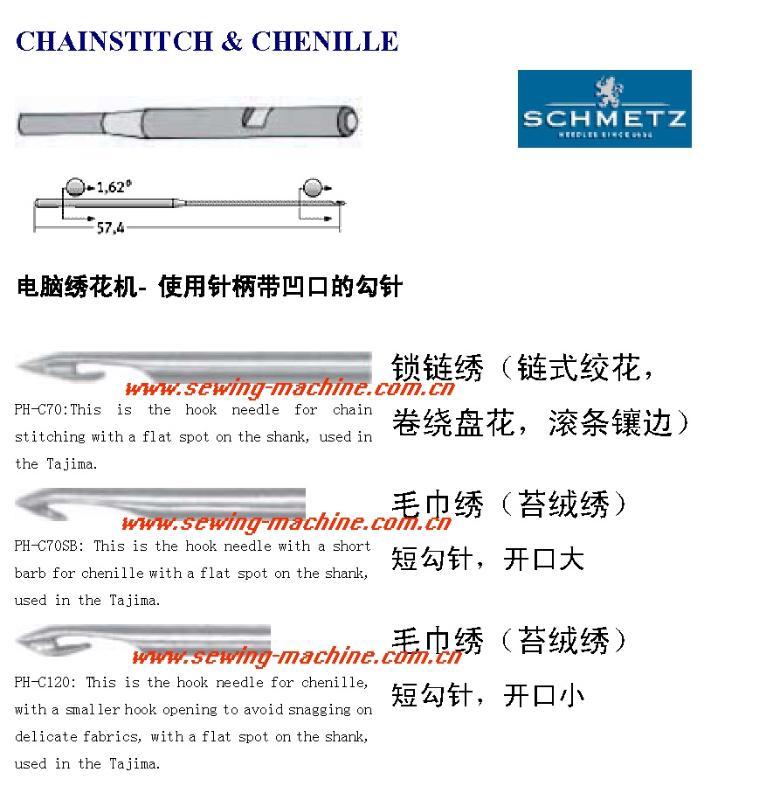 CHAINSTITCH & CHENILLE NEEDLES 1