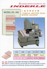 IDL-306 TWO THREAD ABUTTED SEAM SEWING MACHINE