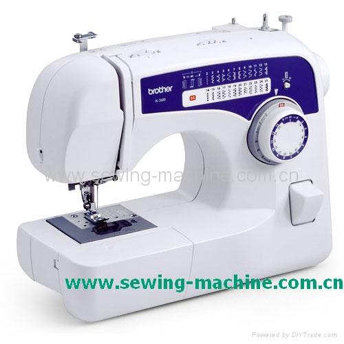 Brother xl 2600 domestic sewing machine china trading for Machine a coudre xl 2600 brother