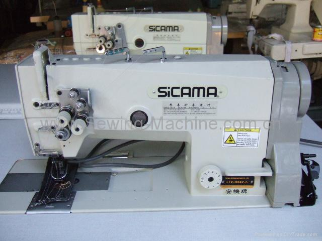 SICAMA LT2-B842 Twin needle lock stitcher
