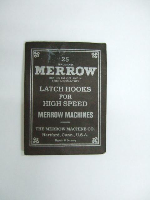 MERROW SEWING MACHINE LATCH HOOK 1