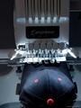 兄弟牌PR655e 电脑单头6针小型绣花机