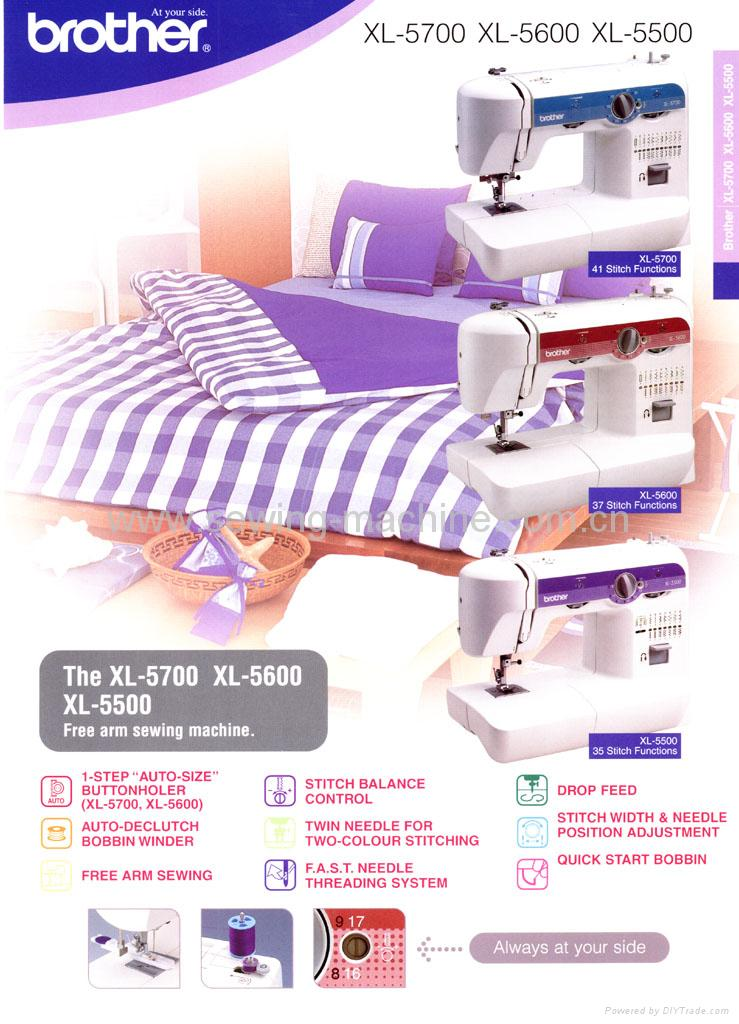 BROTHER XL-5000 DOMESTIC SEWING MACHINE 2