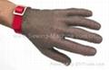 Saf-T-Gard Stainless Steel Metal Mesh Gloves 2