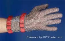 Saf-T-Gard Stainless Steel Metal Mesh Gloves 4
