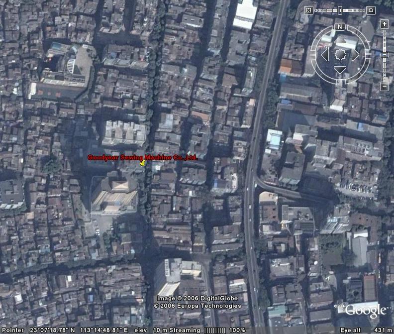 年丰公司卫星照片: 23° 7'18.70