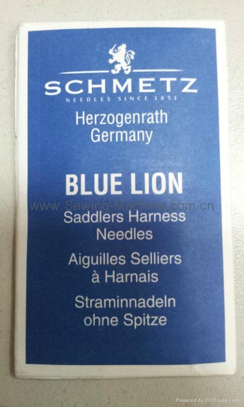 德国蓝狮牌手缝针 1