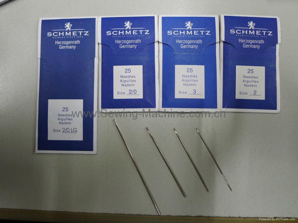 SCHMETZ hand sewing needles 2