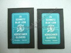 德国蓝狮牌裘皮三角手缝针