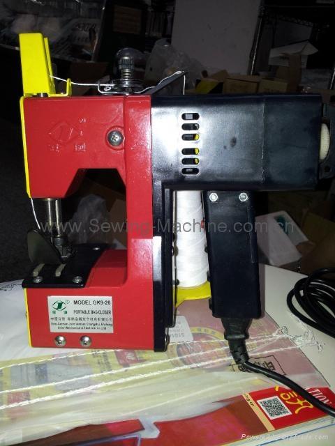 金城牌GK9-26 单线手提缝包机 1