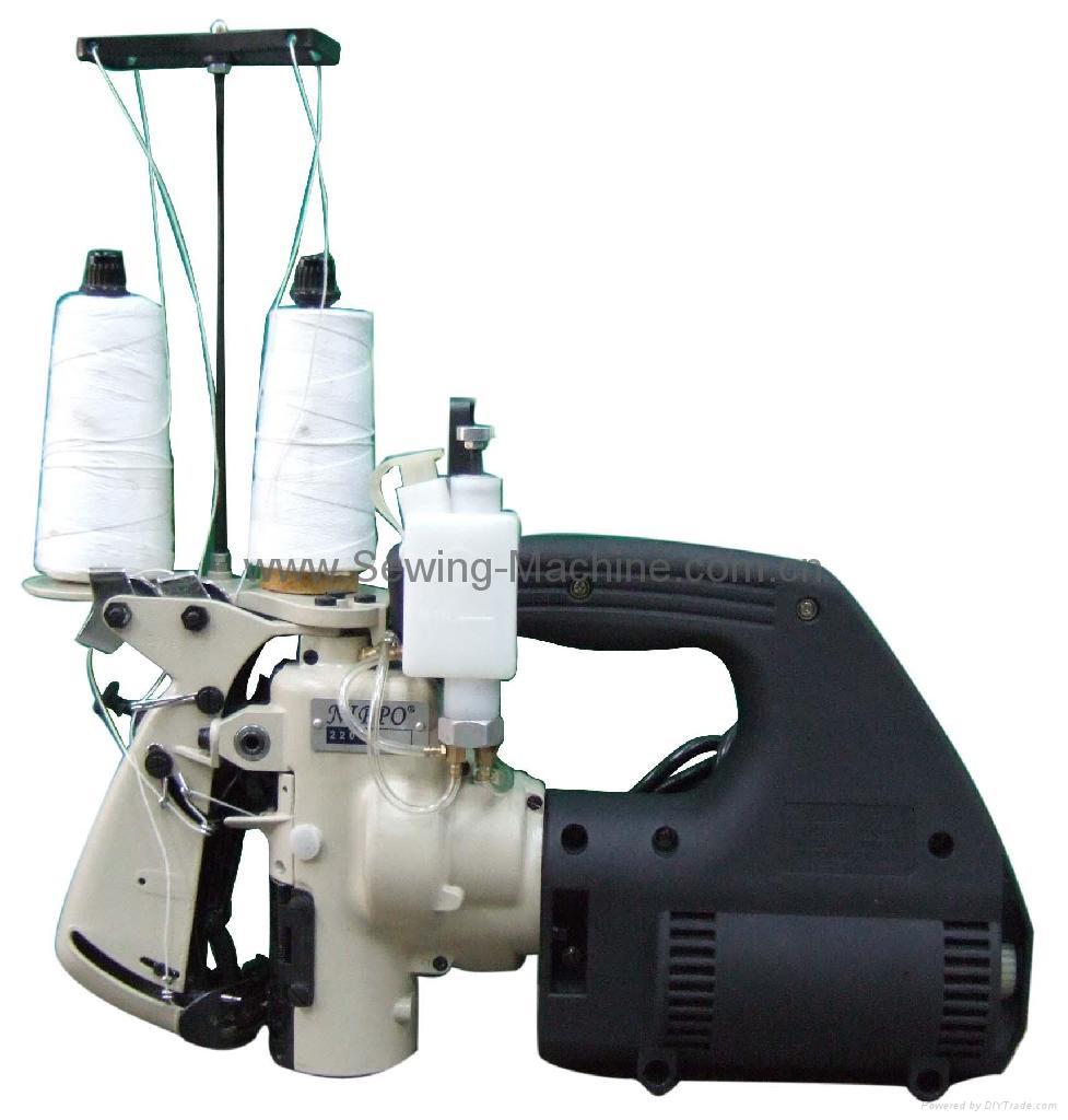 厚料双线手提缝包机 1