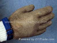 Saf-T-Gard Stainless Steel Metal Mesh Gloves 1