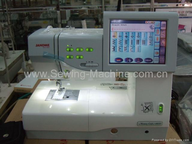 JANOME MC-11000 DOMESTIC SEWING & EMBROIDERY  MACHINE 1