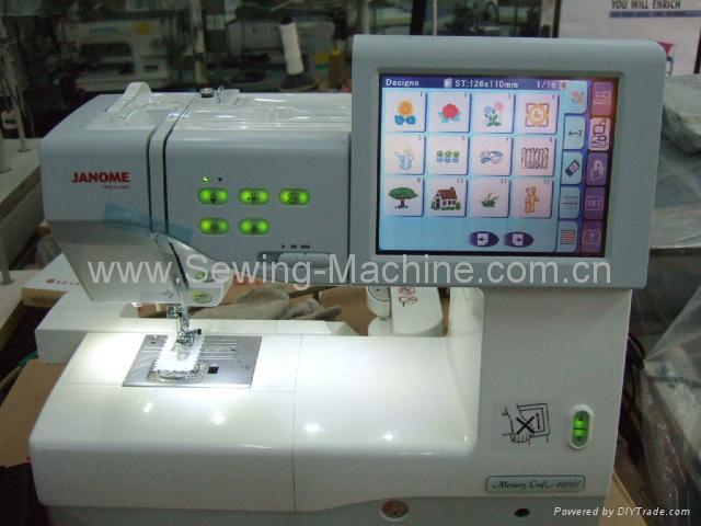 JANOME MC-11000 DOMESTIC SEWING & EMBROIDERY  MACHINE 2