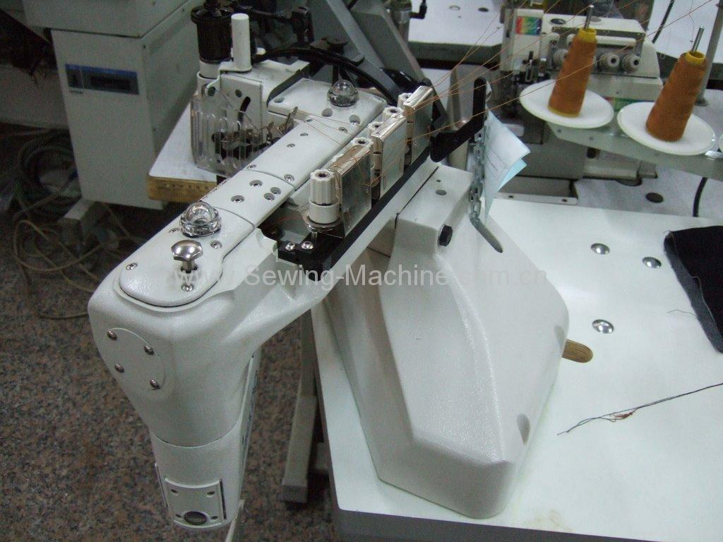 35800 Feed-off-the-arm Three-needle Chainstitch for Lapseaming 4