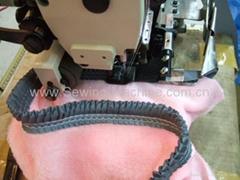 毛毯打褶包邊縫紉機