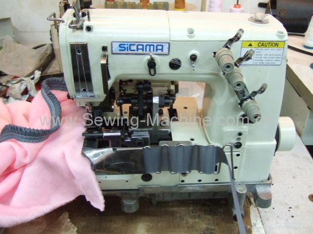 毛毯打褶包边缝纫机 2