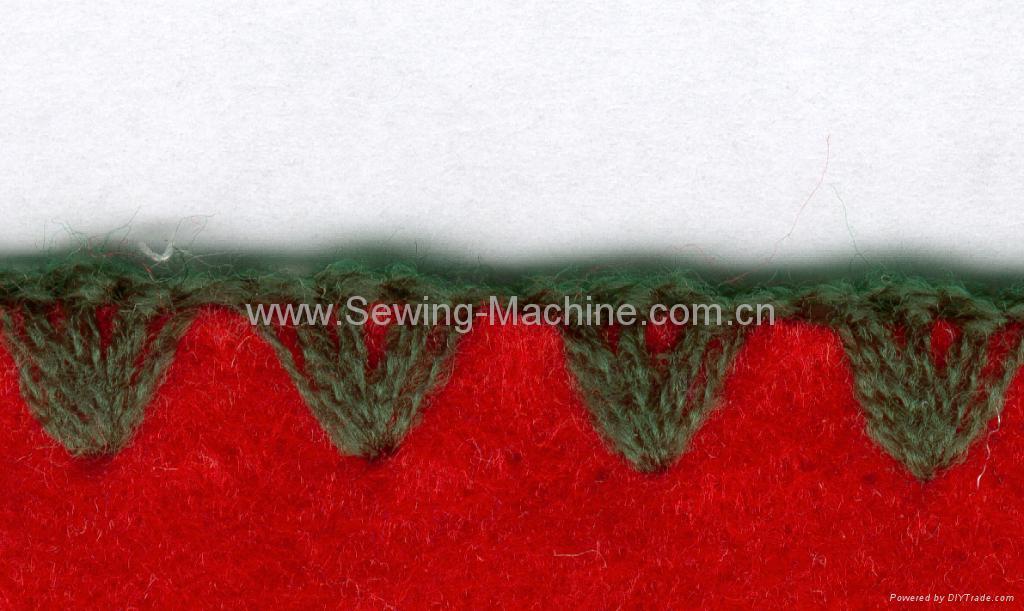 LARGE SHELL STITCH OVERLOCK SEWING MACHINE 3