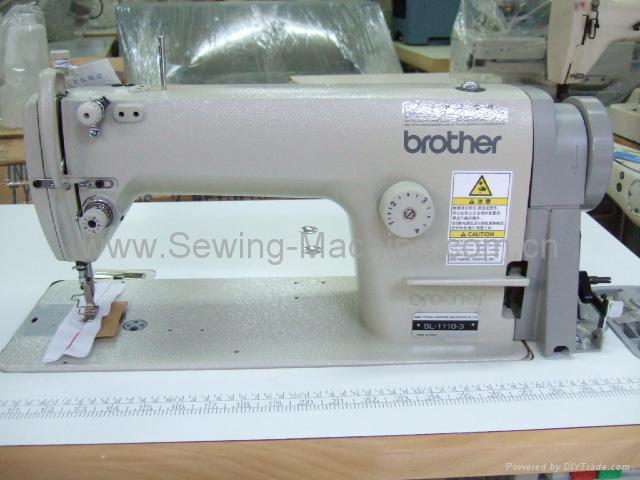 Home brother sl 1110 single needle straight lock stitcher