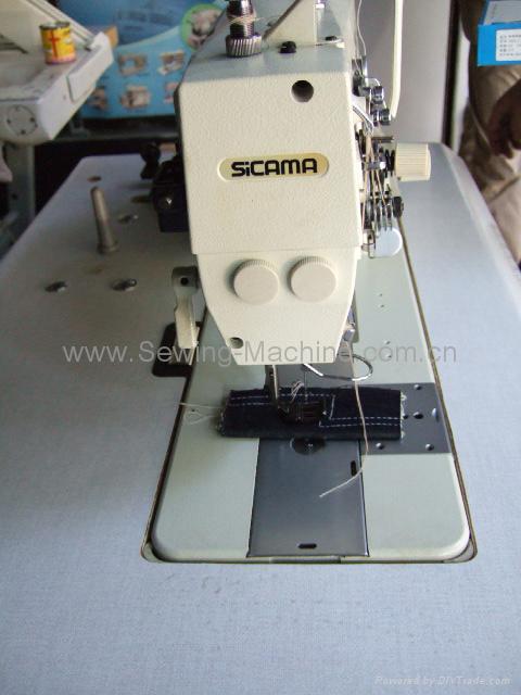 SICAMA LT2-B845 Twin needle lock stitcher 3