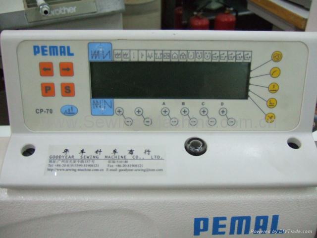 單針高速自動剪線平縫機+伺服馬達連選針盒 2