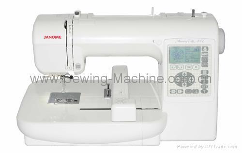 MC-200e 1-Needle DOMESTIC ENBROIDERY MACHINE 1