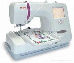 Janome MC-350e 1-Needles DOMESTIC ENBROIDERY MACHINE