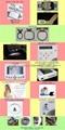 真善美牌電腦單頭4針小型繡花機 5