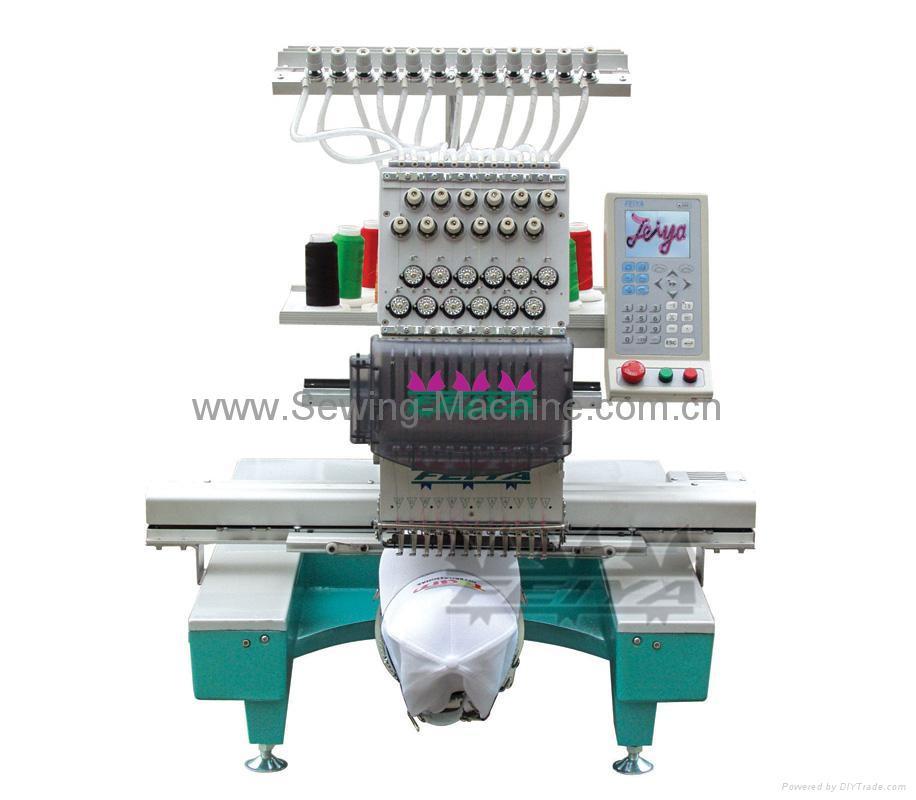 Single-head, 12-needle Table Embroidery Machine 3