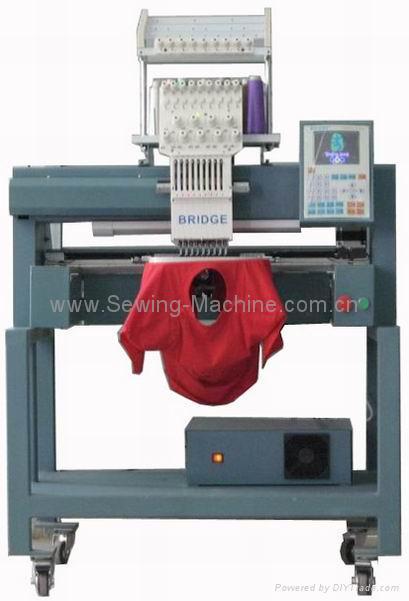 1-head, 9-needle Embroidery Machine 2