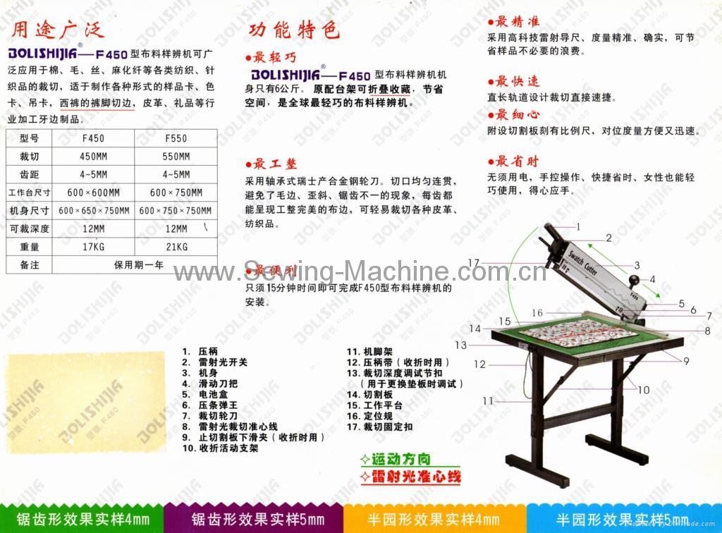 样品裁剪机(锯齿状)  轻便型 3