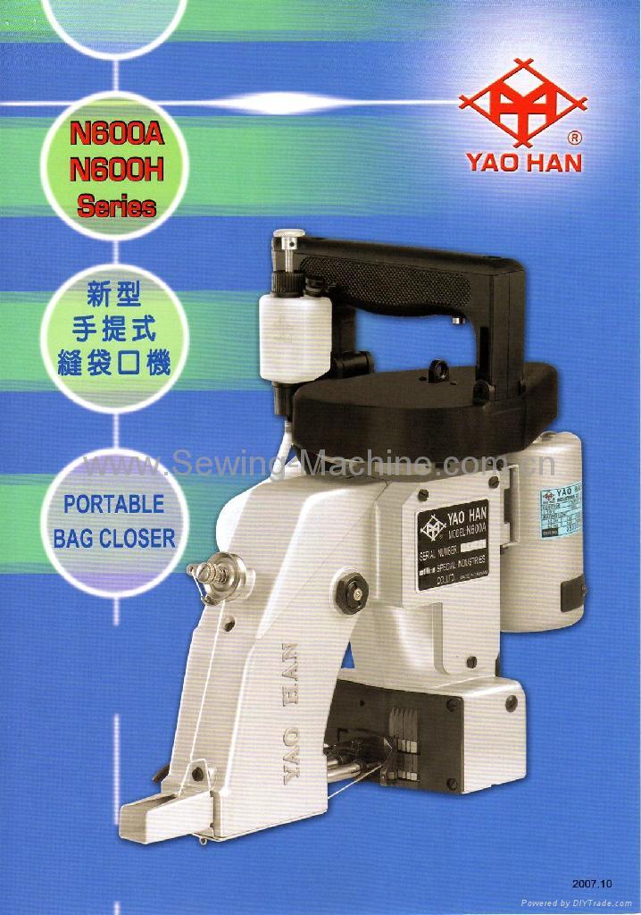 YAOHAN N600A 1 Thread Protable Bag Closer