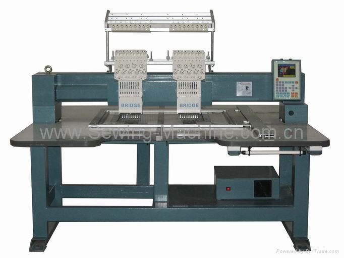 2-head, 9-needle Embroidery Machine 1