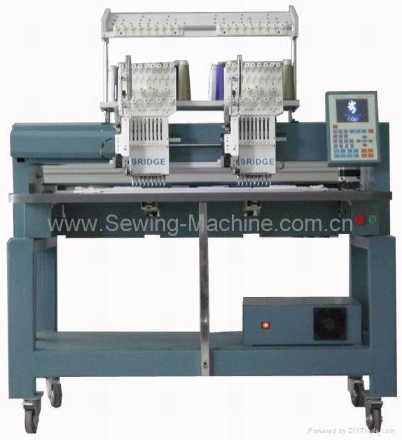 2-head, 9-needle Embroidery Machine 4