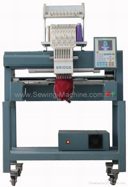 1-head, 9-needle Embroidery Machine 3