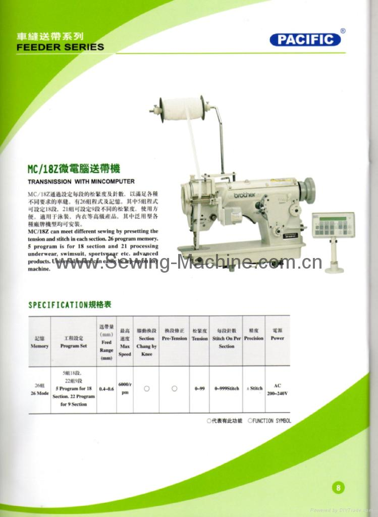 Pacific Computerized Sewing Feeder 1