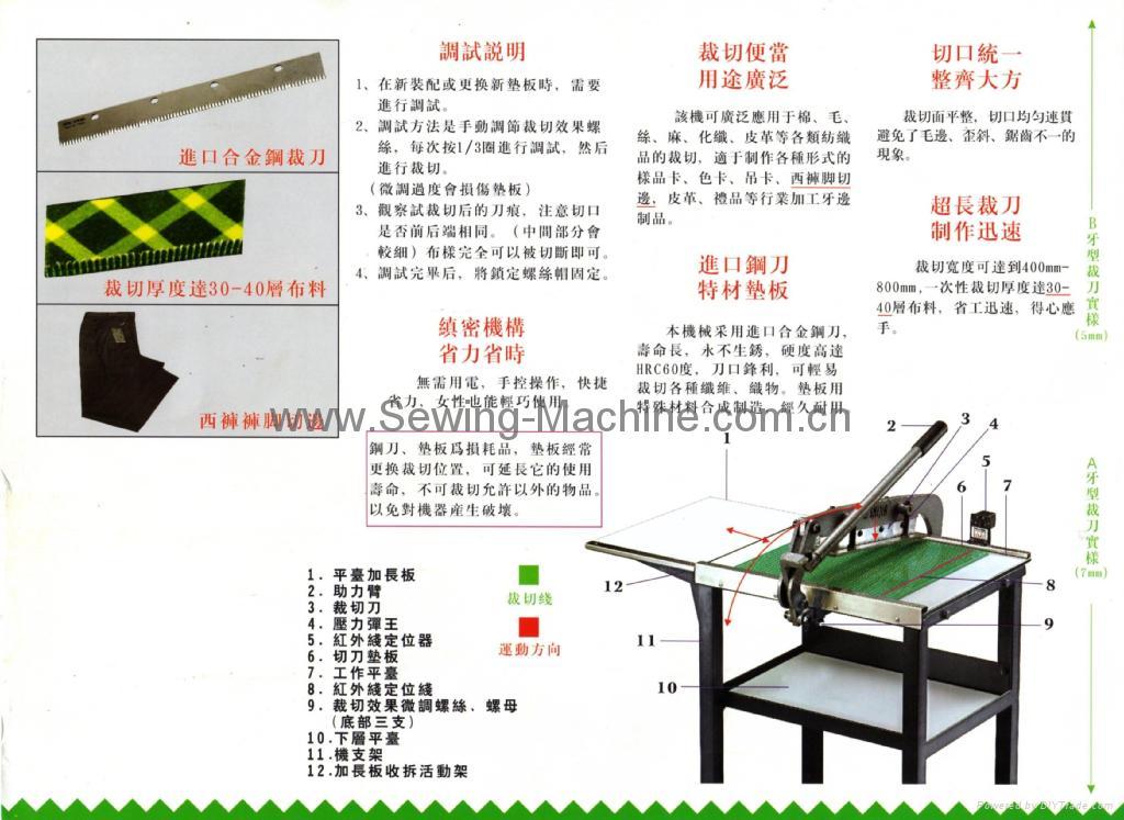 鋸齒狀樣品裁剪機(重型) 3
